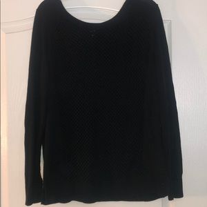 Apt 9 Open Knit Front Sweater